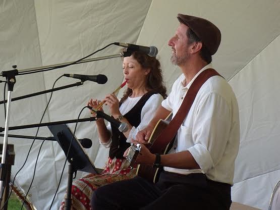 Annie & Dan Eastmond of Harvest Home Music at Welsh Fest
